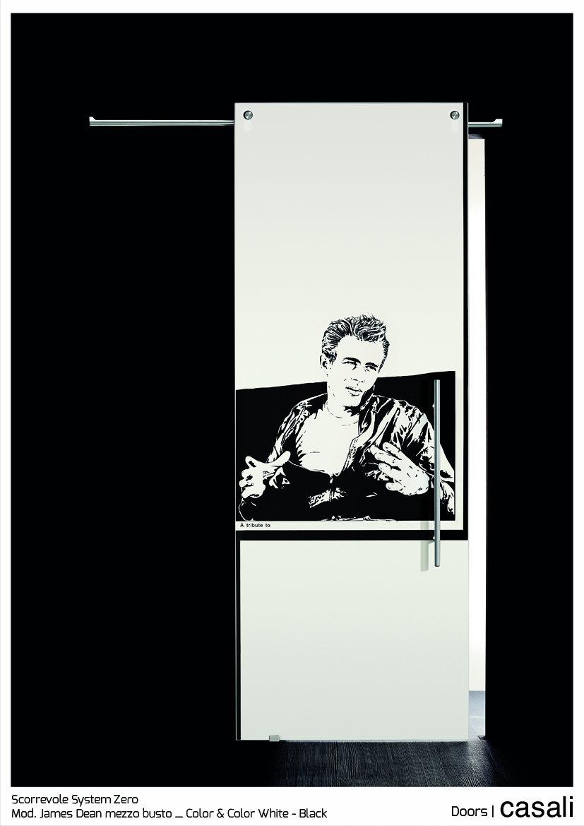 Scorrevole System Zero_mod.  James Dean mezzo busto_Color & Color White Black.jpg