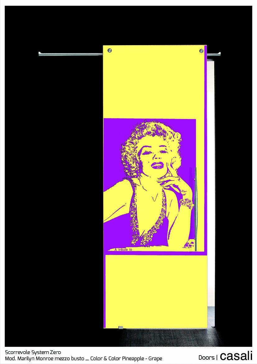 Scorrevole System Zero_mod.  Marilyn mezzo busto_Color & Color Pineapple Grape.jpg