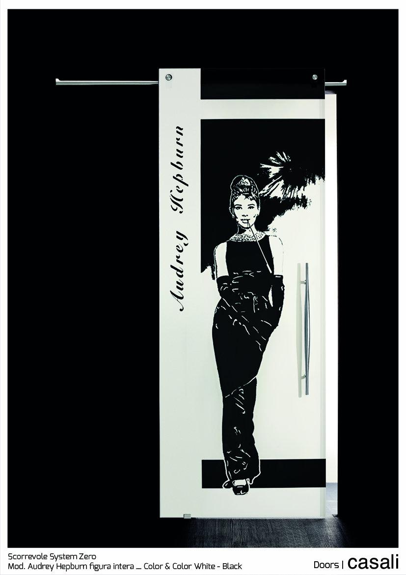 Scorrevole System Zero_mod.  Audrey Hepburn figura intera_Color & Color White Black.jpg
