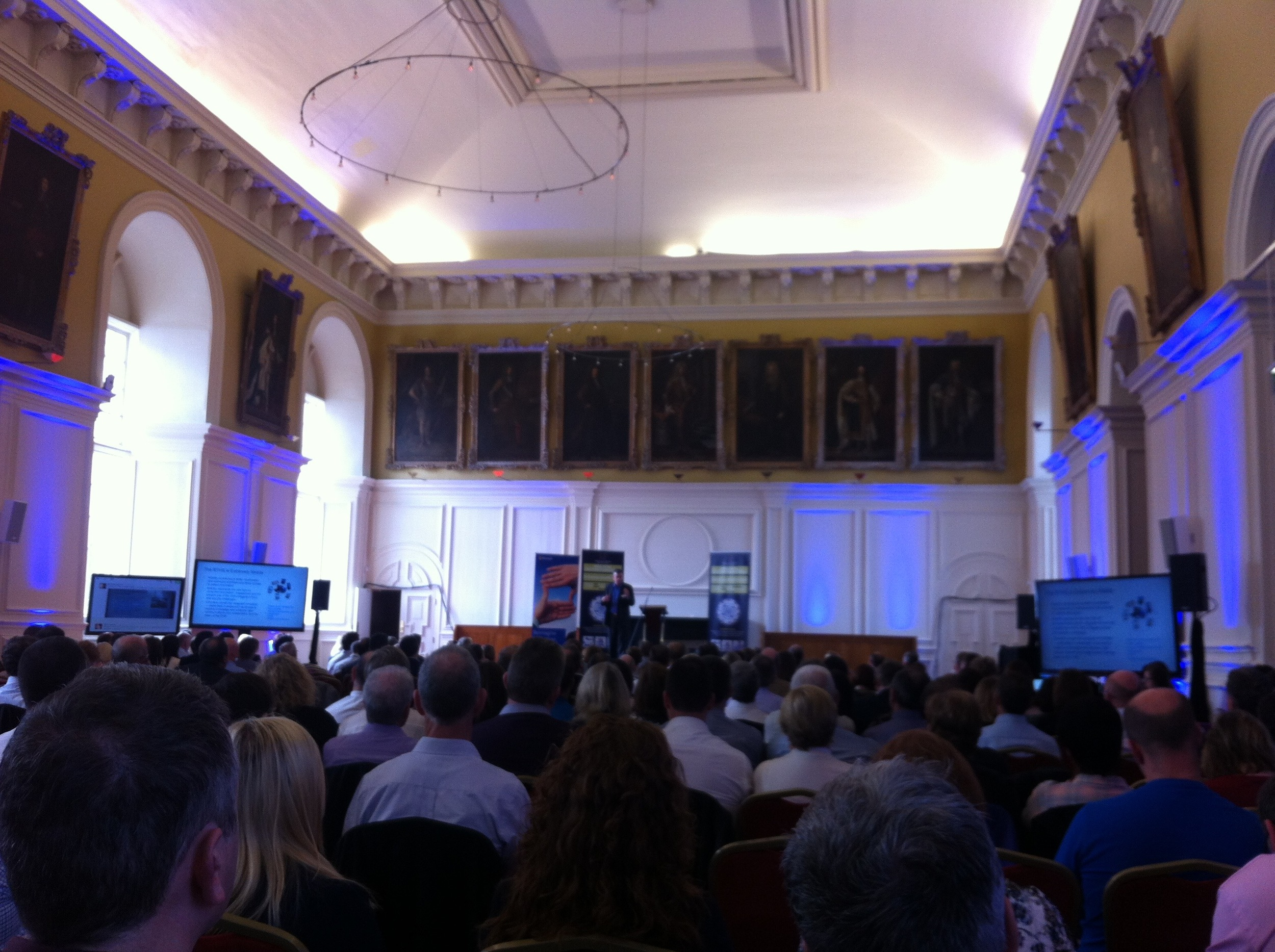 A packed crowd at the ONE eHI Conference at the Royal Hospital Kilmainham