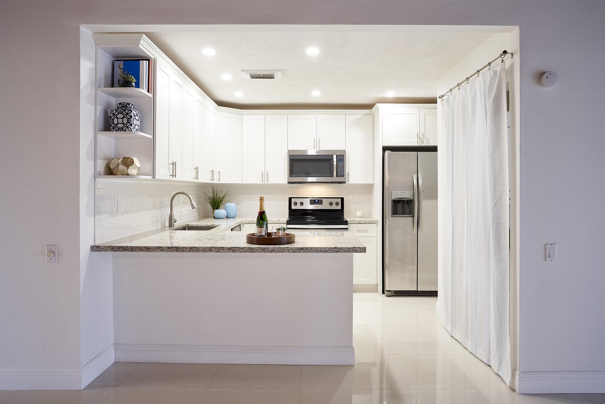 Snapper Village kitchen renovation