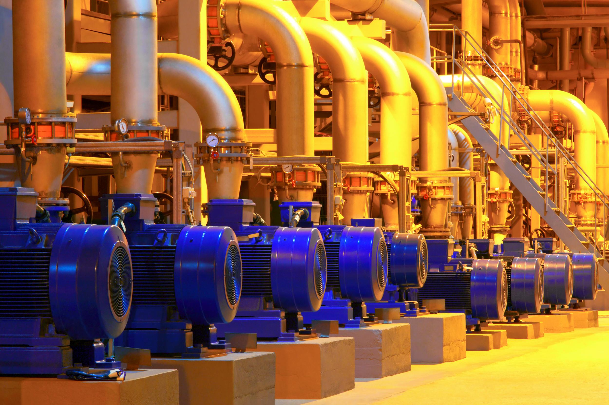 Hilatex motors and pumps