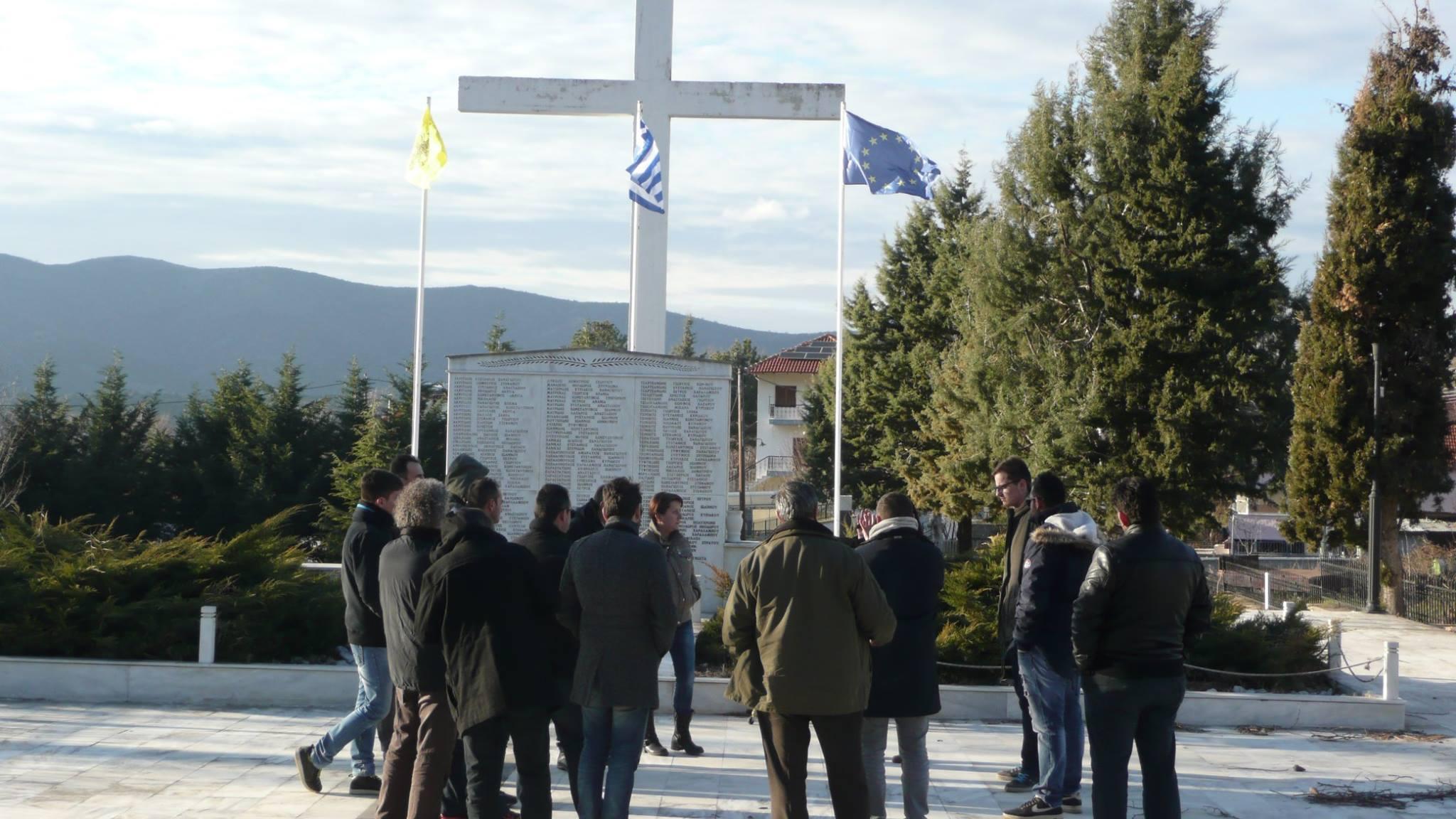 Visit to Mesovouno Monument