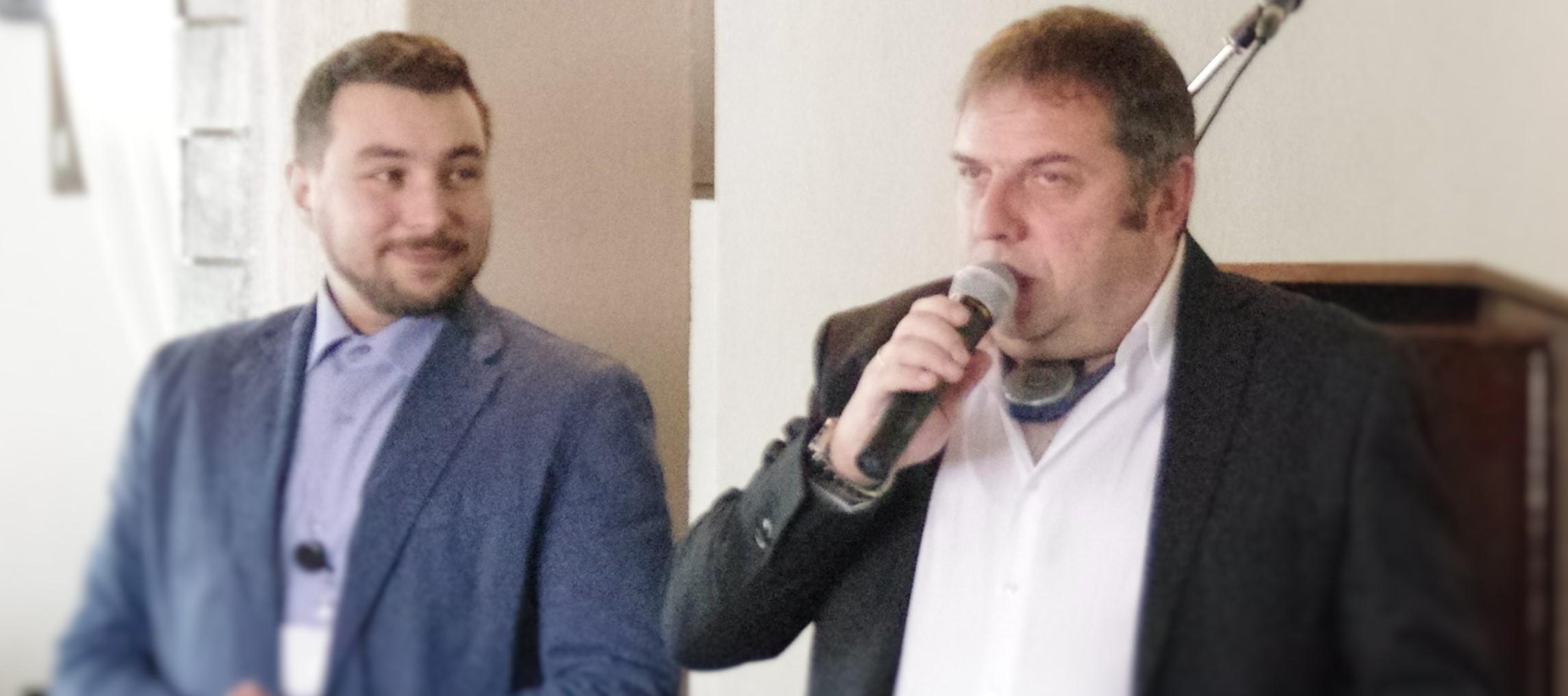 Βαγγέλης Στεφανίδης και Χαράλαμπος Καρπουχτσής