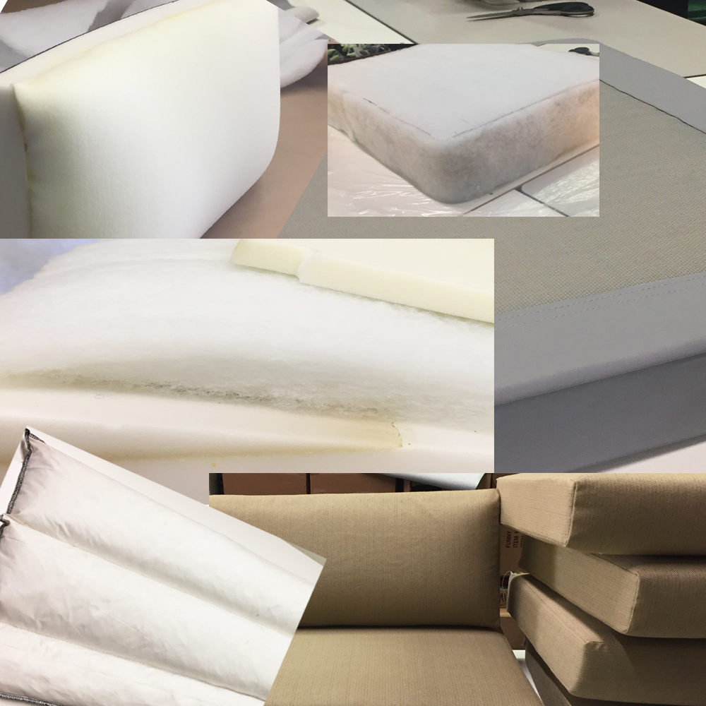 I take the time to evaluate your existing foam, and recommend various options for upgrades that meet the needs of your application.