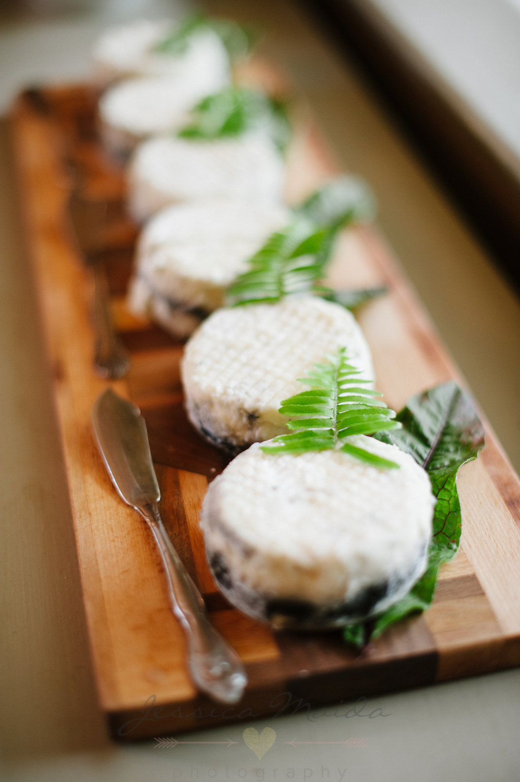 Vegetable Ash Goat Cheese from Caromont Farm