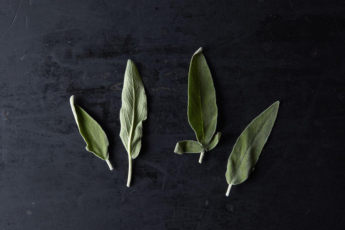 Fresh Sage - Beautiful Garnish!