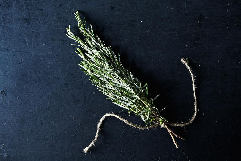 Fresh Rosemary - Another stand out garnish to fill in the gaps.