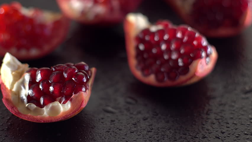 Fresh Pomegranate - The burst of red, and chewyness looks great and tastes delicious