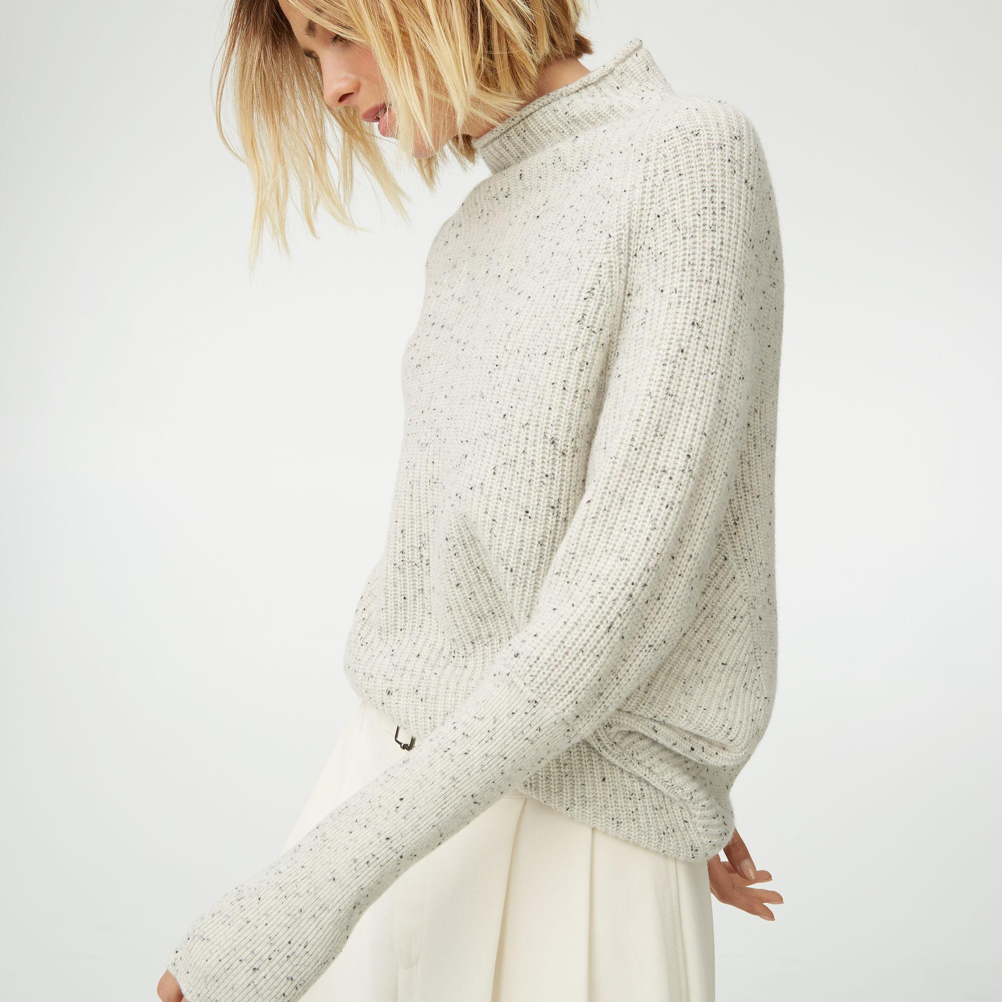 Club Monaco Emma Ribbed Cashmere Sweater