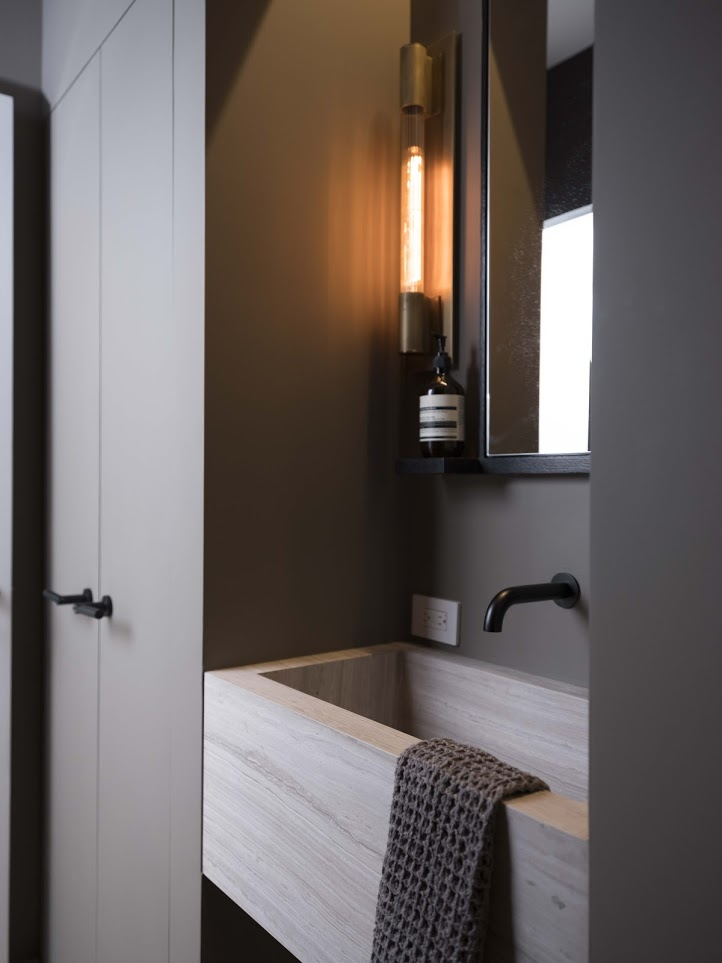 Mirror by NAFCO  Materials: Ebonized oak & glass