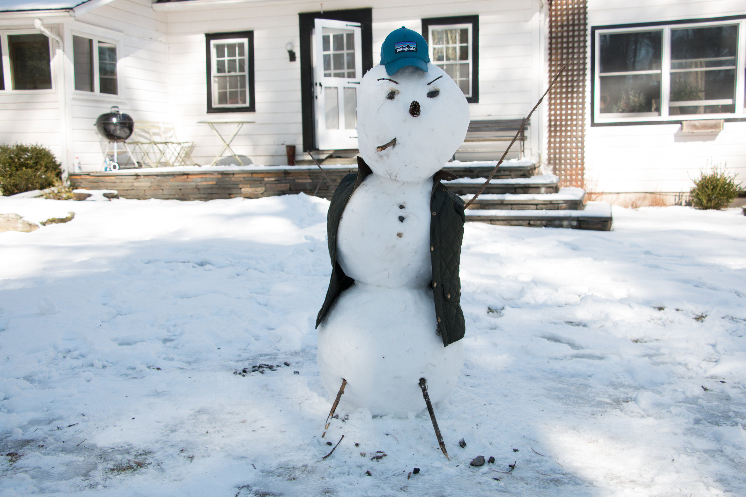 Snowman - Conceptualized & Built by Jake & Josh
