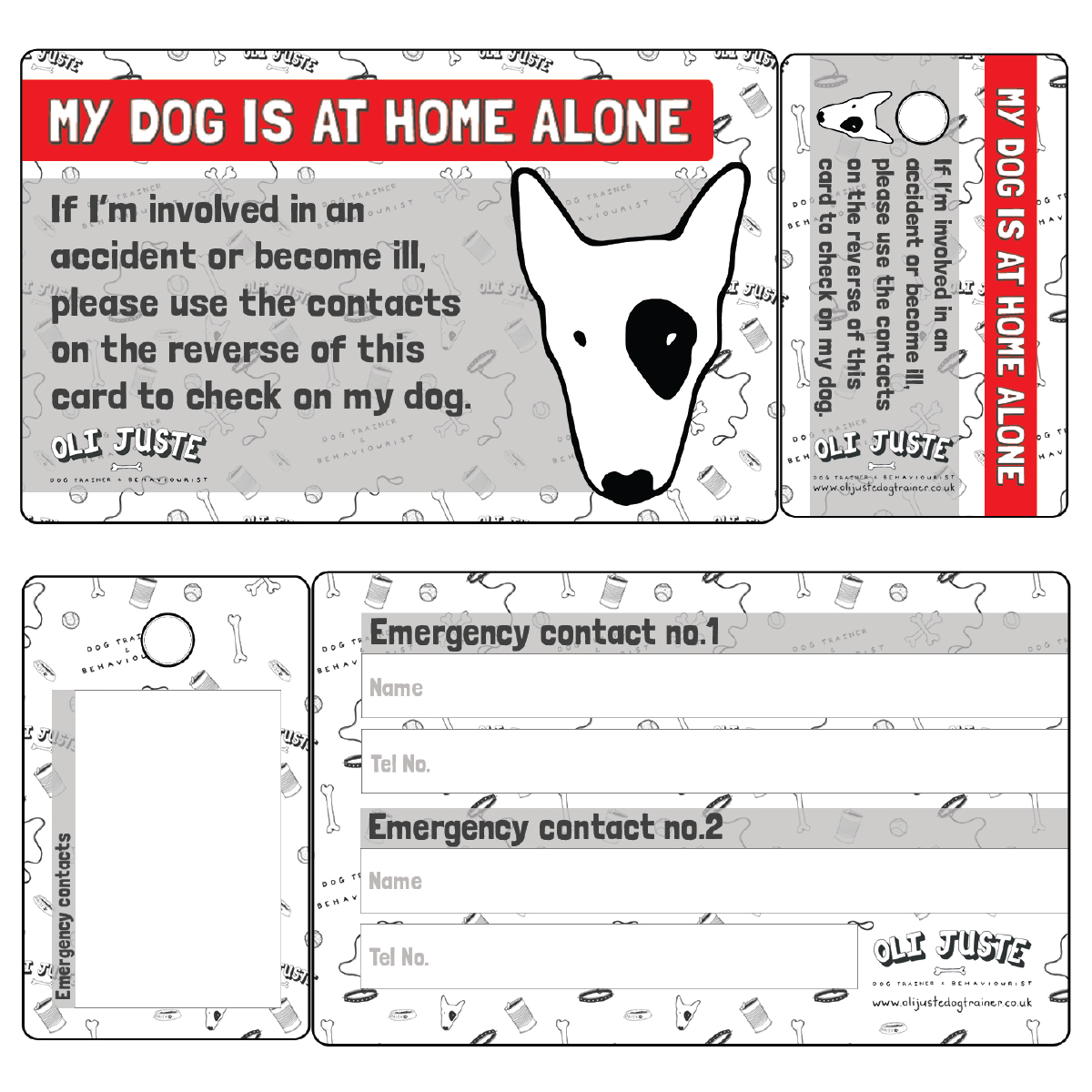 K9 Next Of in Card - £3.95