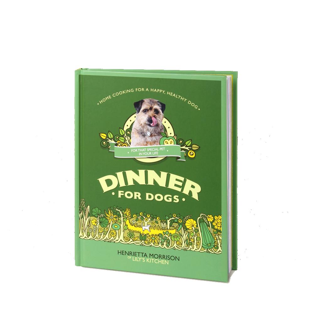 Dinner For Dogs Book - £12.00