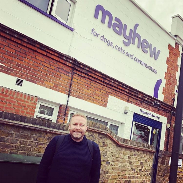 Oli at the Mayhew