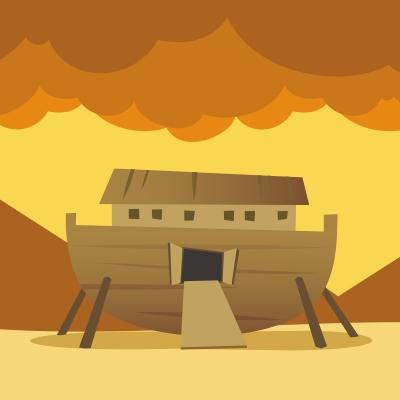 Me gusta el arca, la salvación de Dios