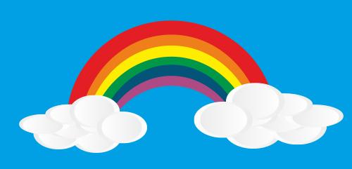 Me gusta el arcoíris, la promesa de Dios
