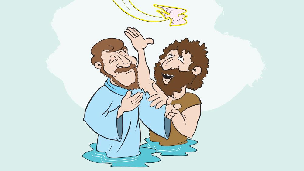 Lección 4: Juan Bautiza a Jesús