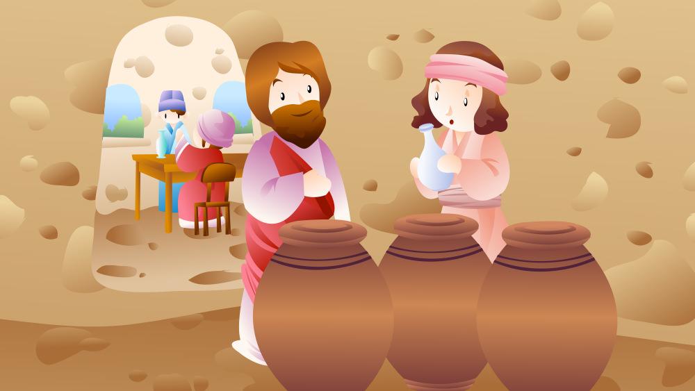 Lección 7: El Primer Milagro de Jesús