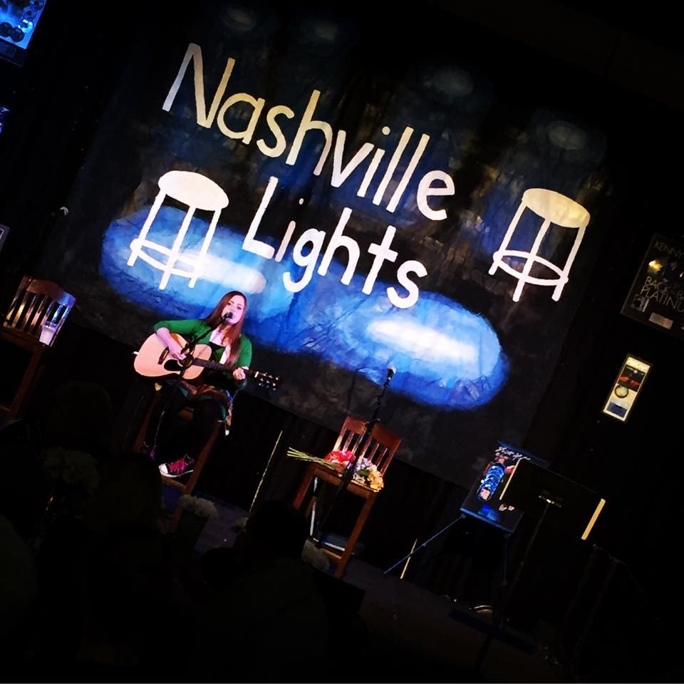 Mikayla performed at the Nashville Lights in 2015