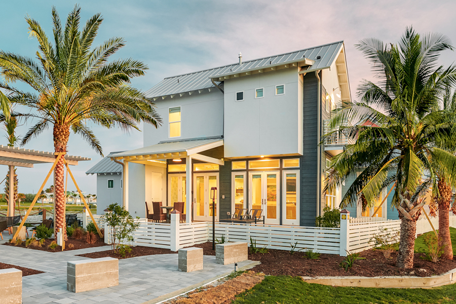 PROPERTIES     Sunflower Beach offers a thoughtful mix of custom homes, luxury cabins, modern condos, & coastal lots     Learn More >