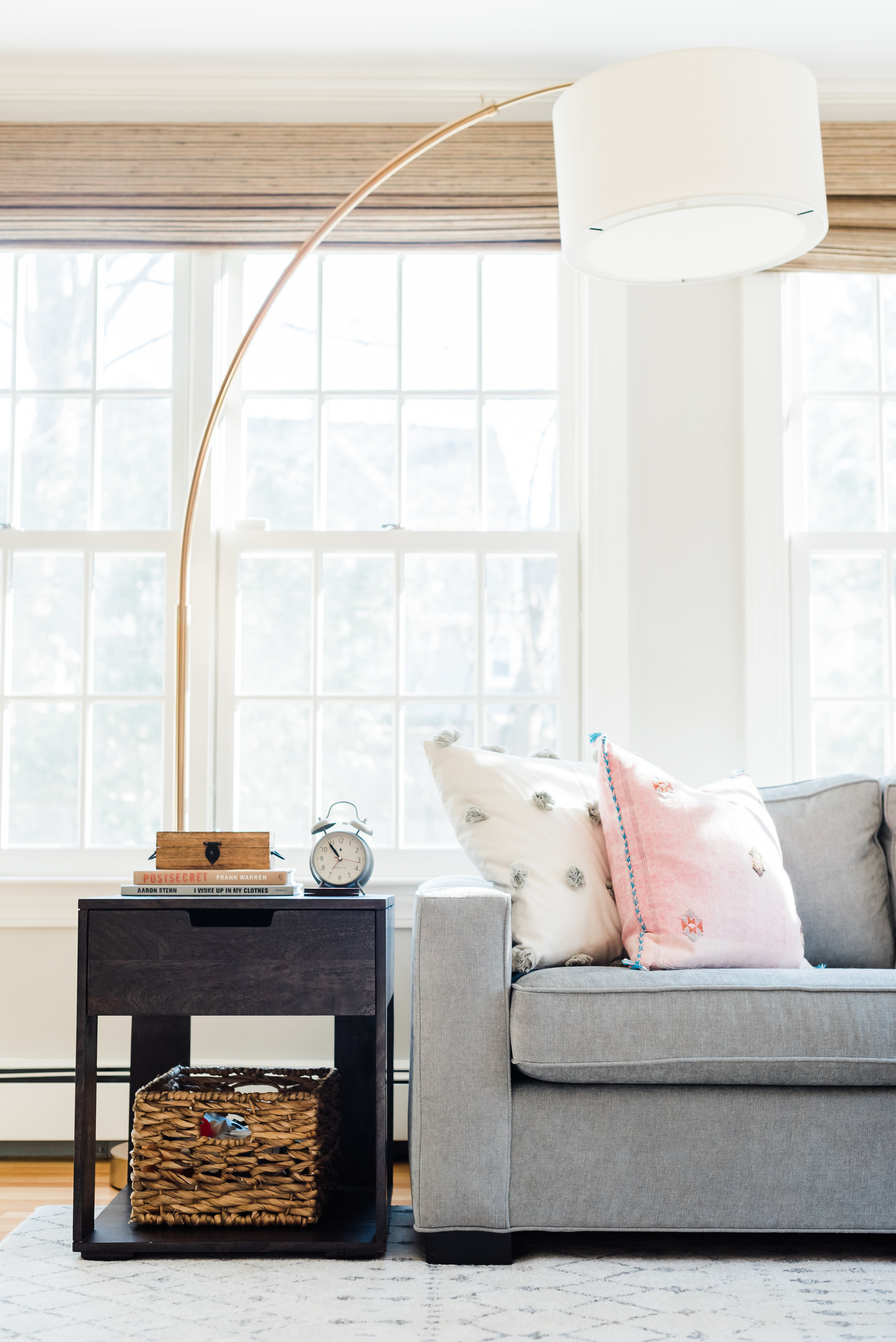 And cozy couches… - that make you want curl up and relax.