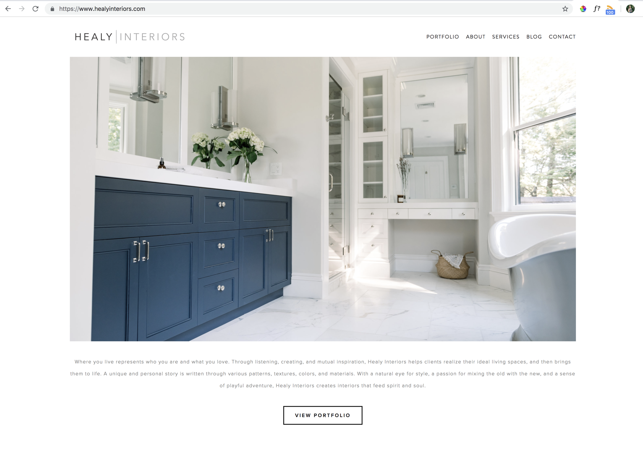 Website Portfolio -