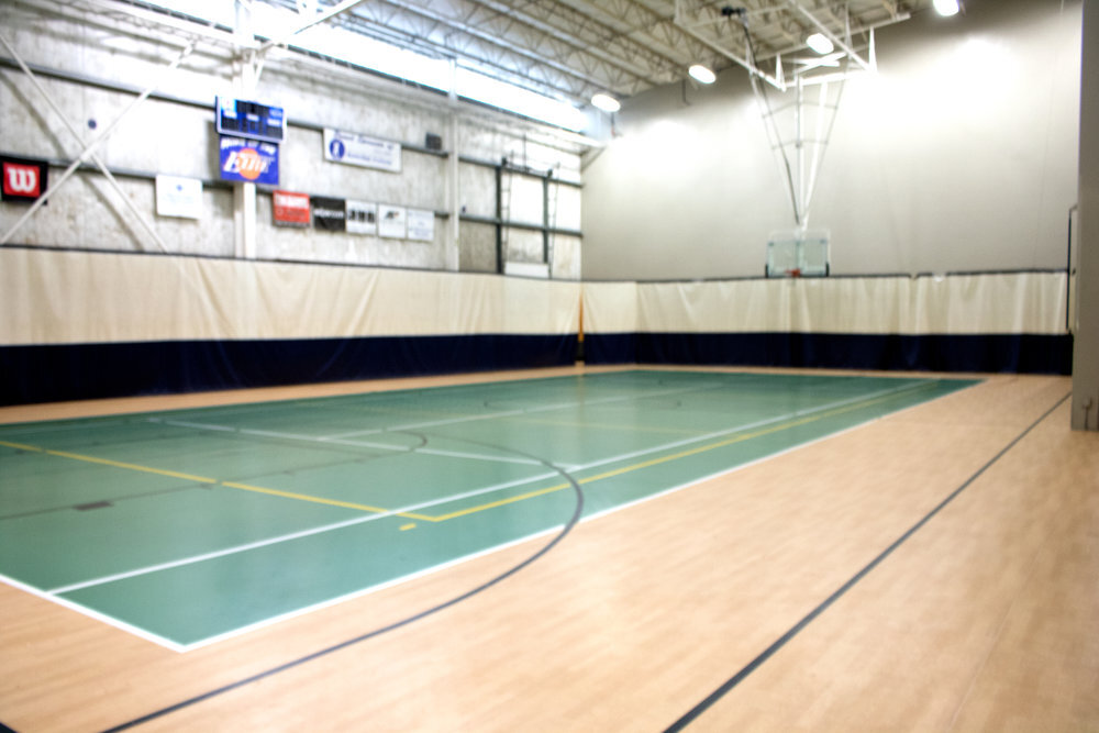 BASKETBALL - We offer multiple basketball courts for you to use upon availability.