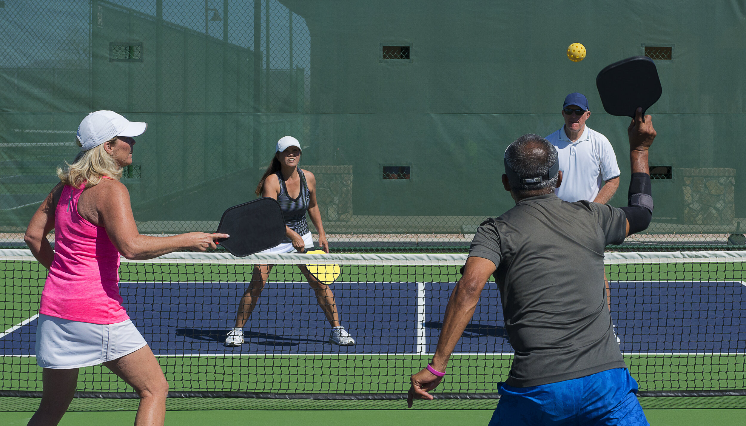 PICKLEBALL - The new trend, pickleball is a sport for every ability and we have courts available to you!