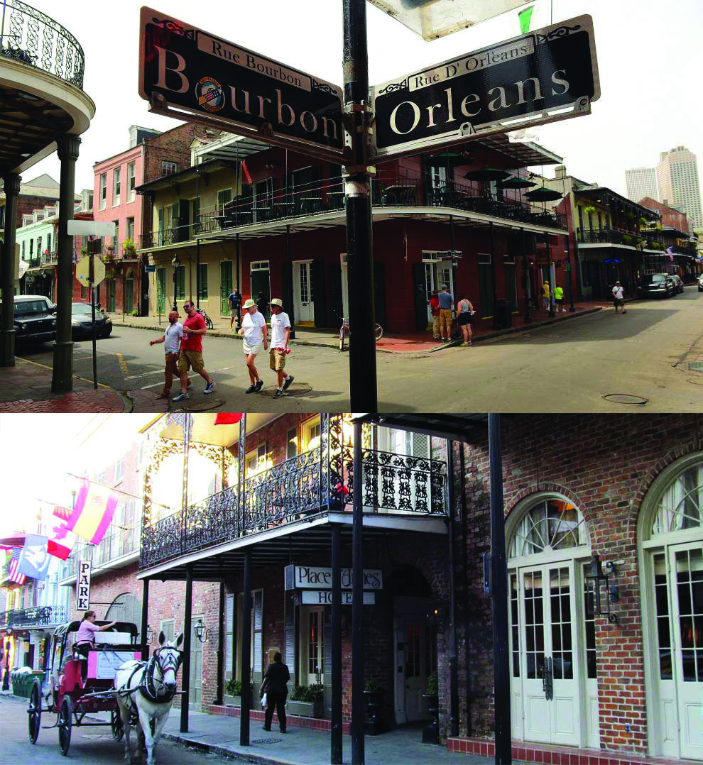 Experience the historic French Quarter!