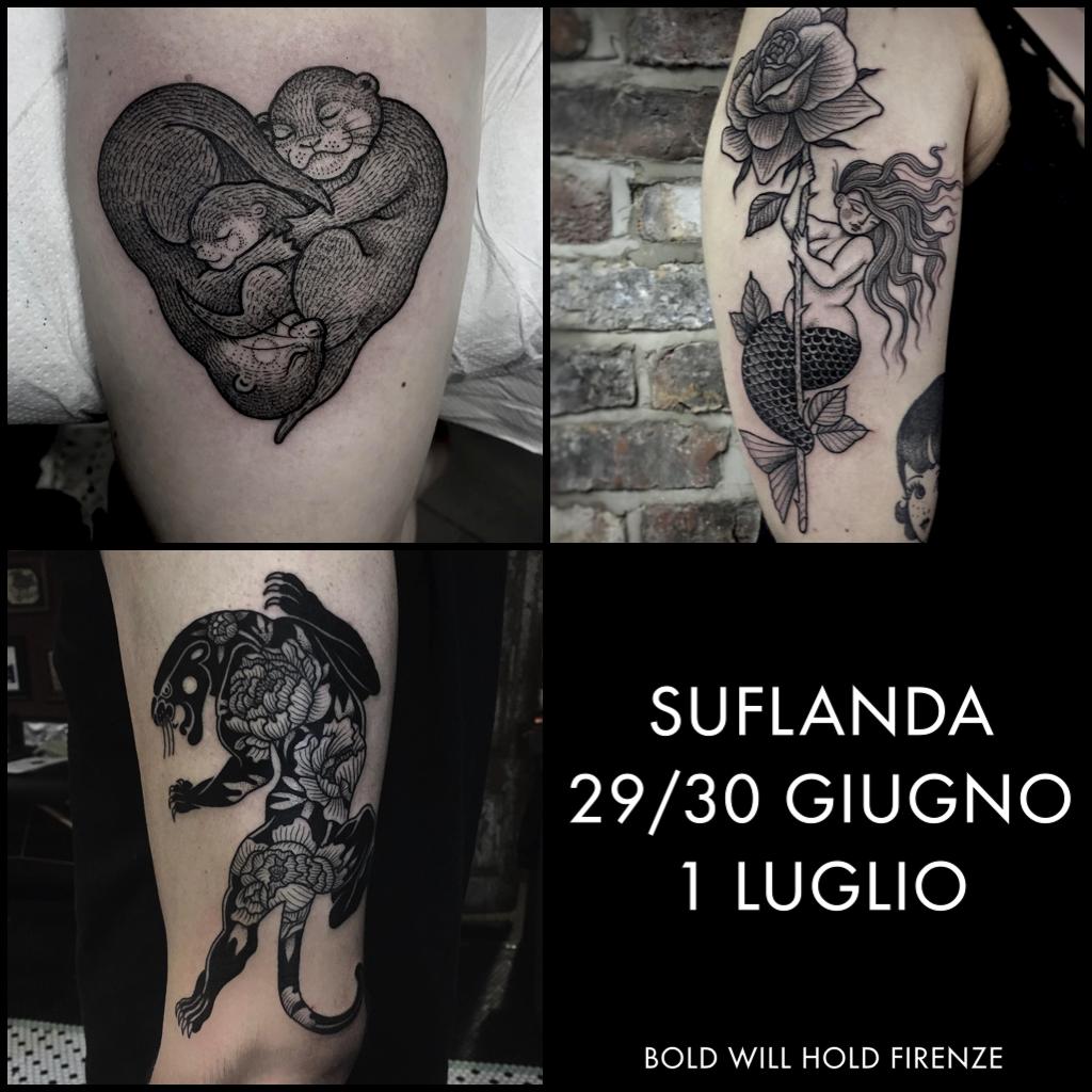 Siamo molto felici di ospitare per la prima volta in Italia, Suflanda!