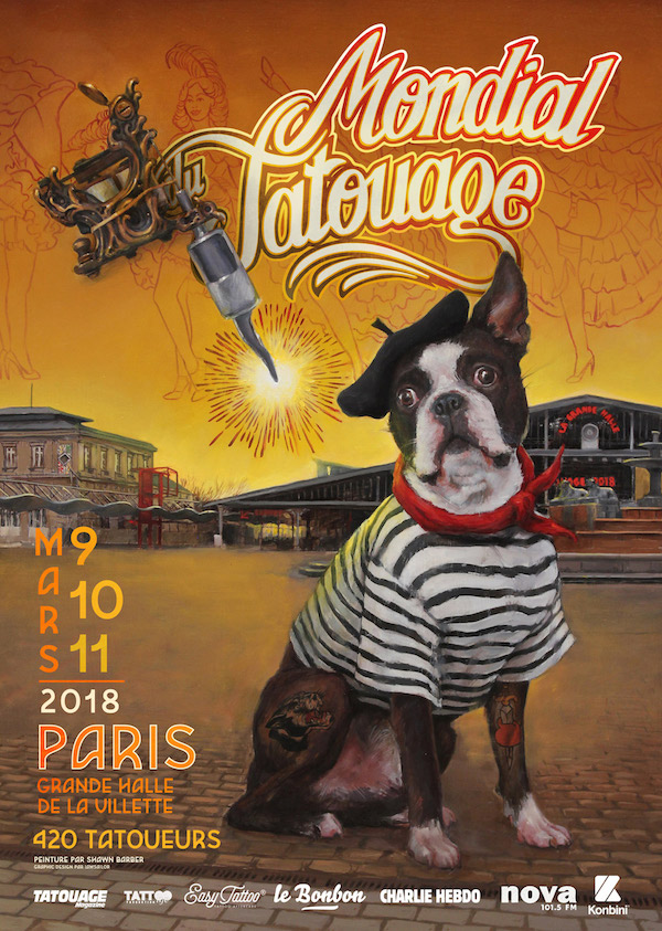 PARIS  - Samuele will attend Le Mondial Du Tatouage 9/10/11 March.Booking infos will soon be posted on our INSTAGRAM page