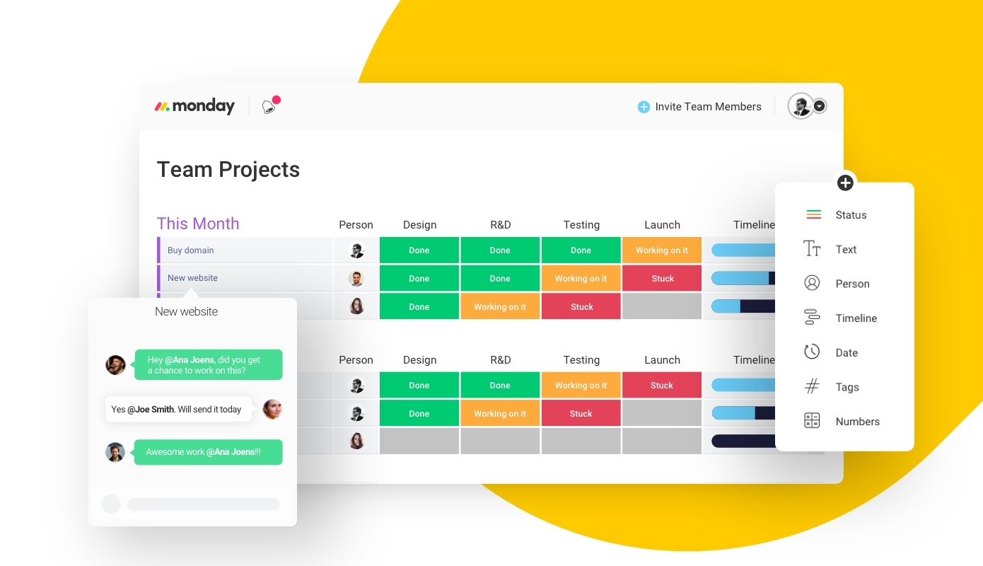 Plan, Organize and Track Your Team's Projects with Monday.com