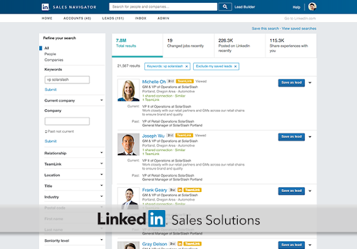Improve your network and reach with LinkedIn Sales Navigator
