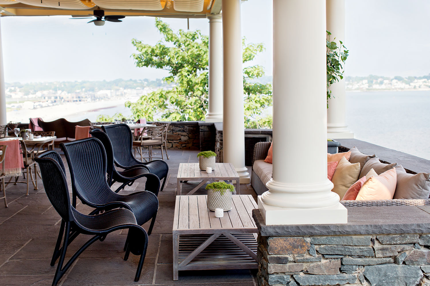 The Spring Fling will take place on The Chanler's Cliff Walk Terrace.