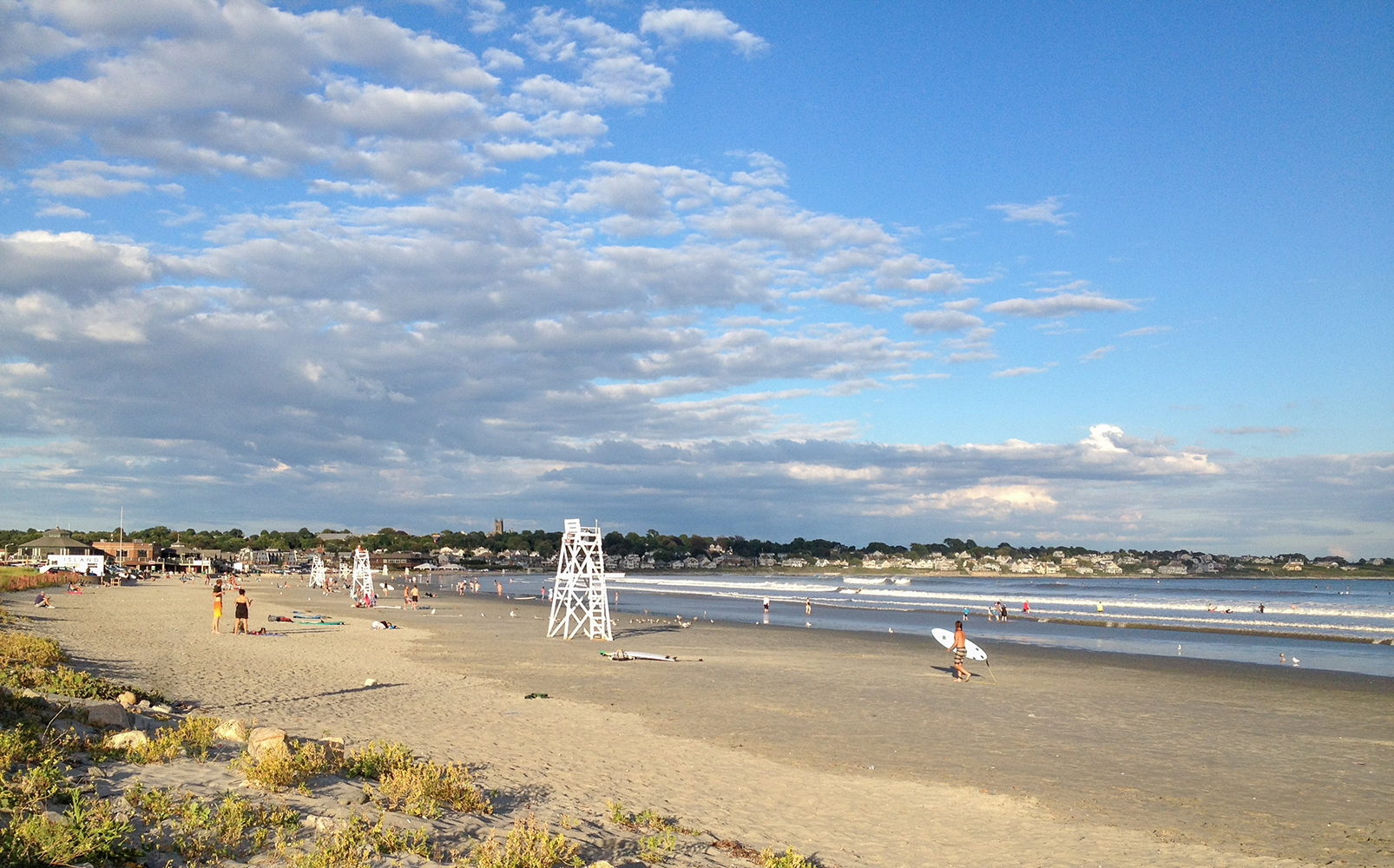 Easton's Beach, Photo credit: Discover Newport.