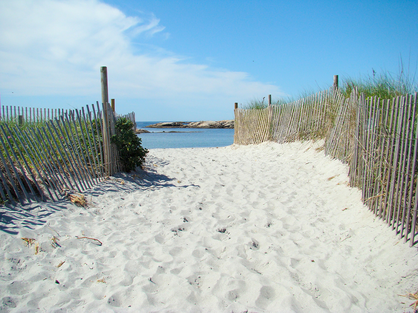 Gooseberry Beach, Photo credit: Discover Newport.