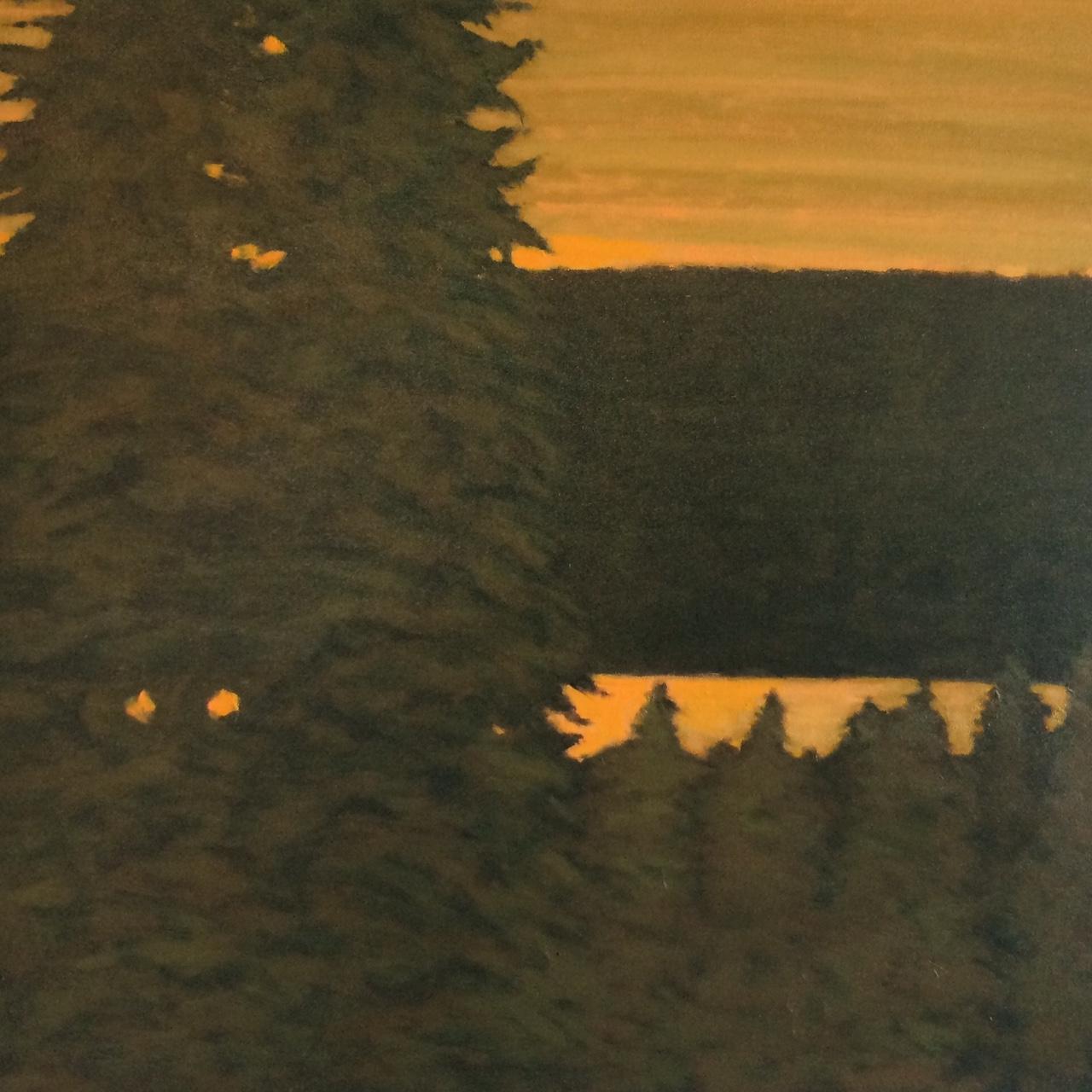 """Vashon Island, From West Seattle"""