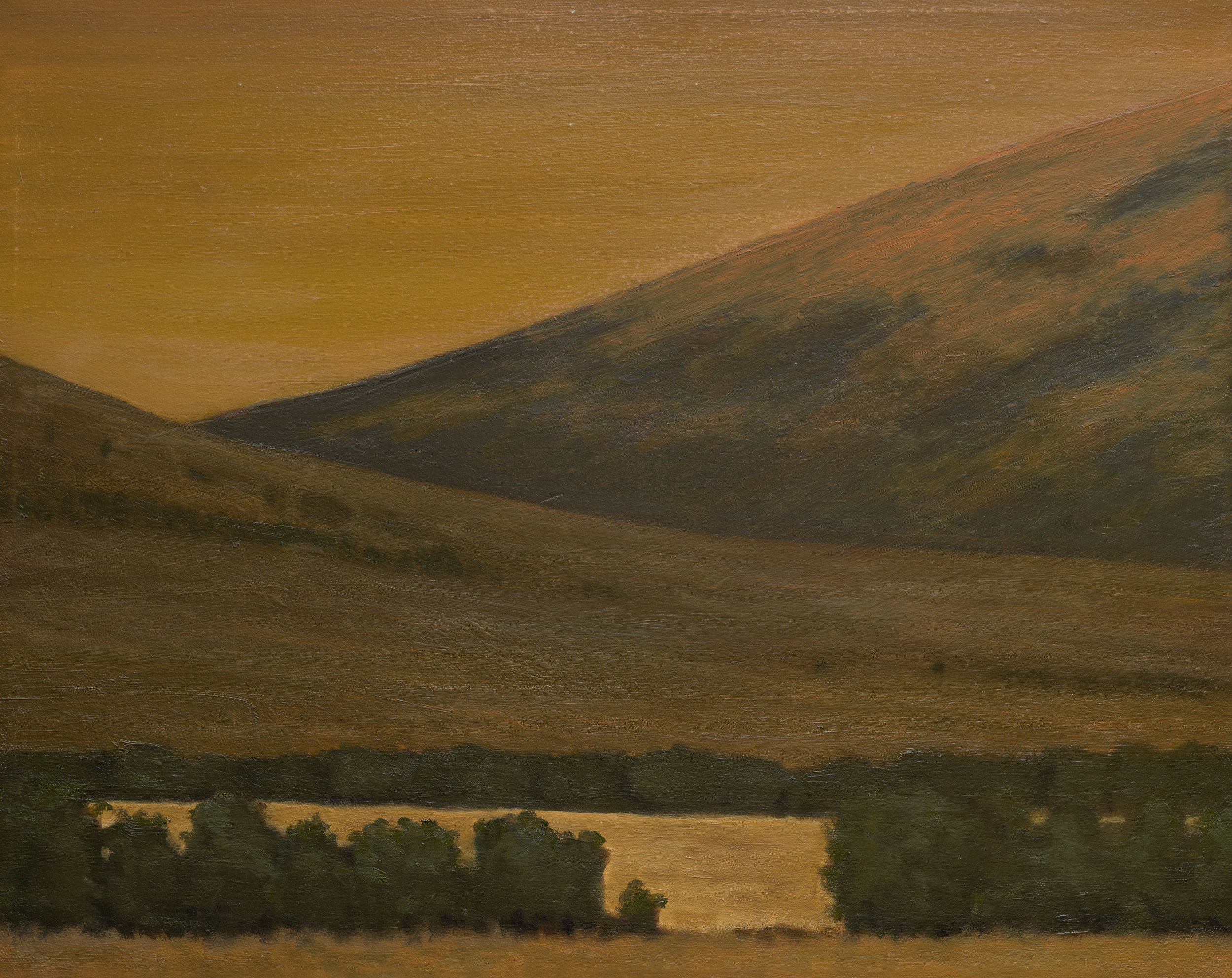 """Dusk Near The Madison"""