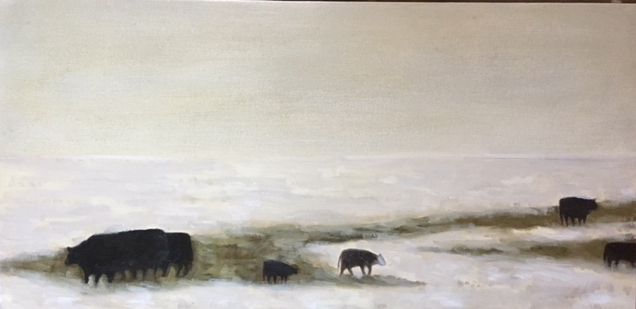 """Cows in Winter"""