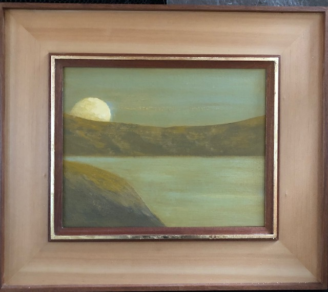 """Moonlight on Tomales Bay"""