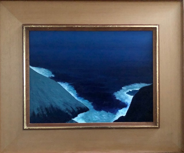 """Moonlight, California Coast"""