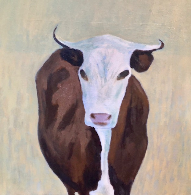 """Portrait of a Cow"""