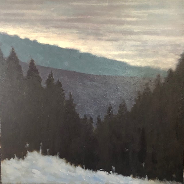 """Winter Evening In The Cascades"""