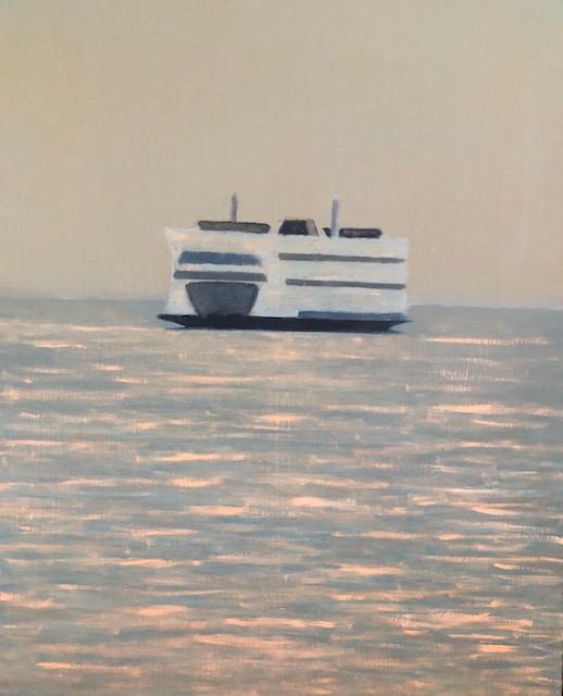 """Evening Ferry"""