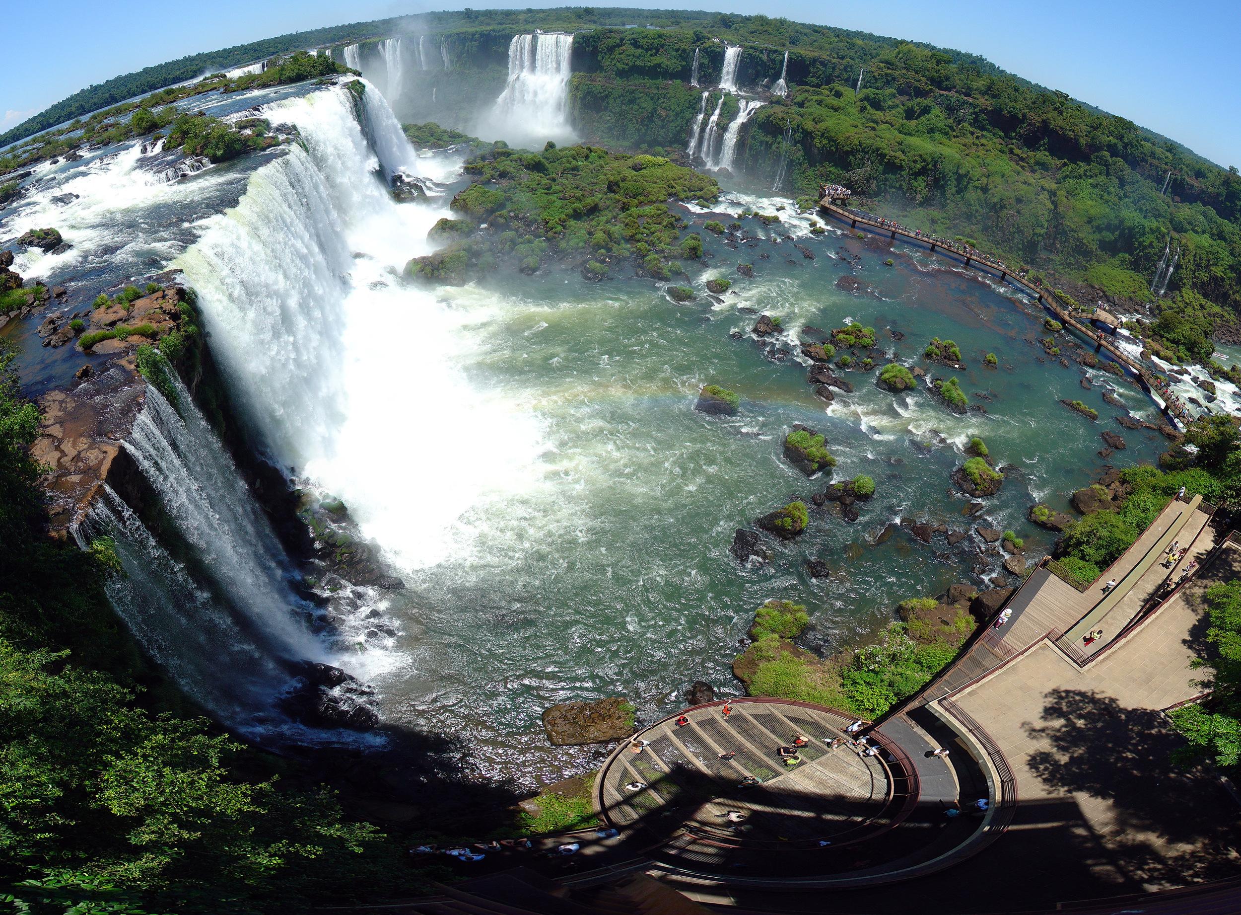 Iguaçu Falls – Brazil, Wikipedia
