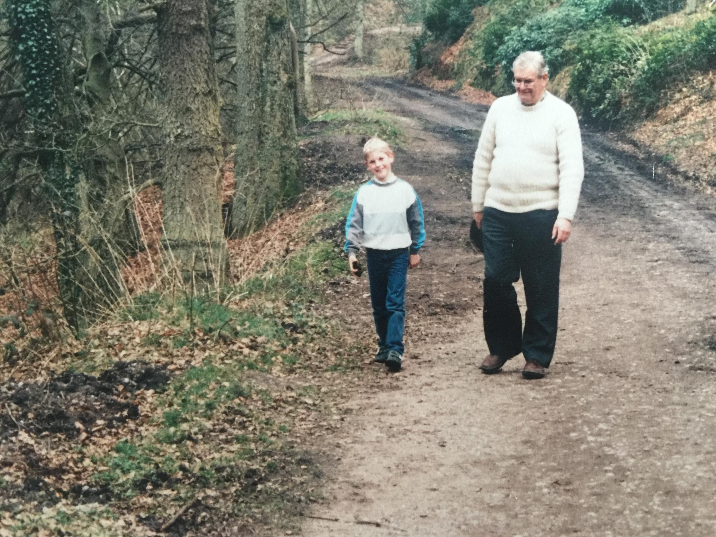 Poppa and I