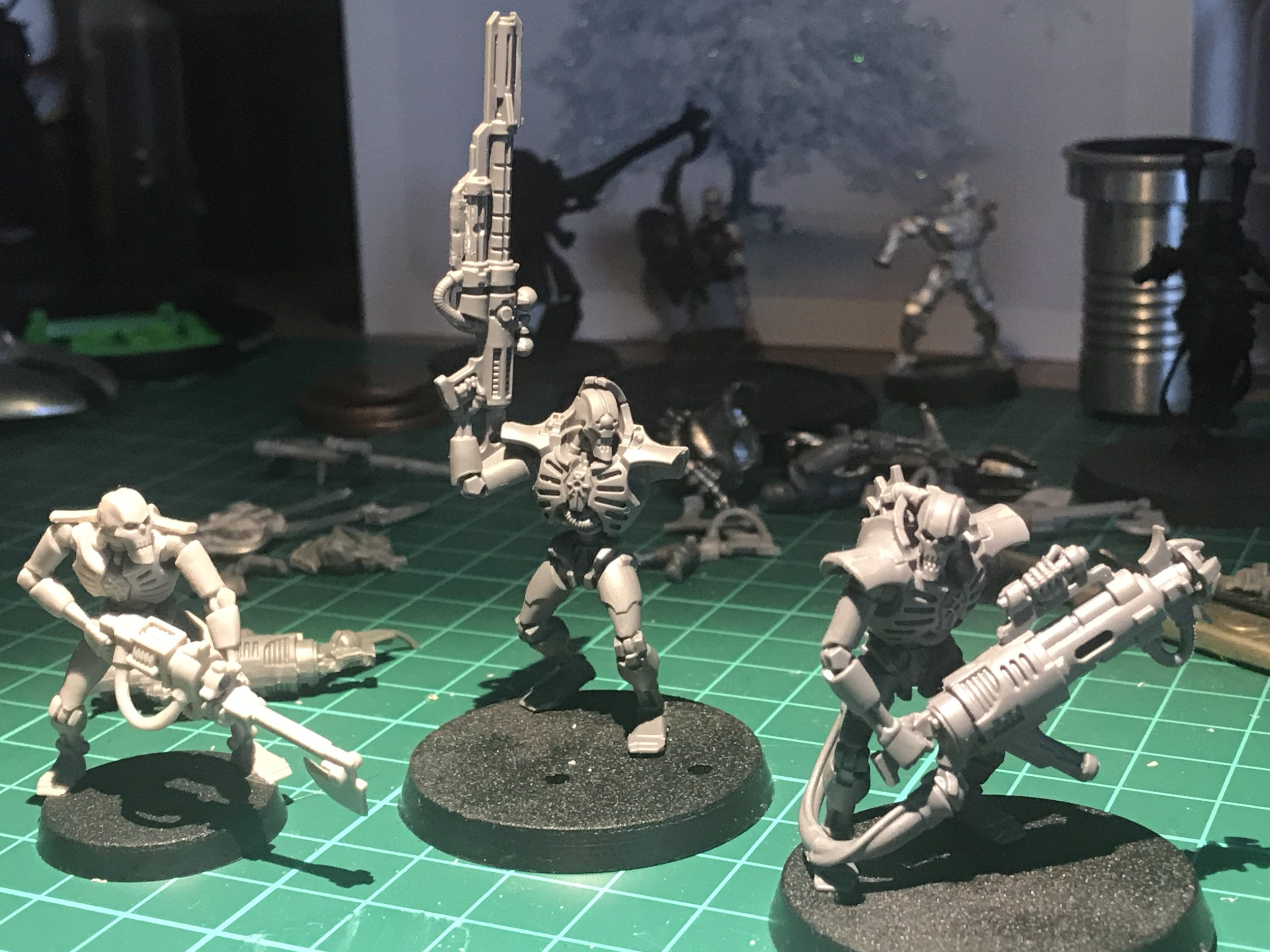 Immortal, Deathmark and Warrior for my kill team