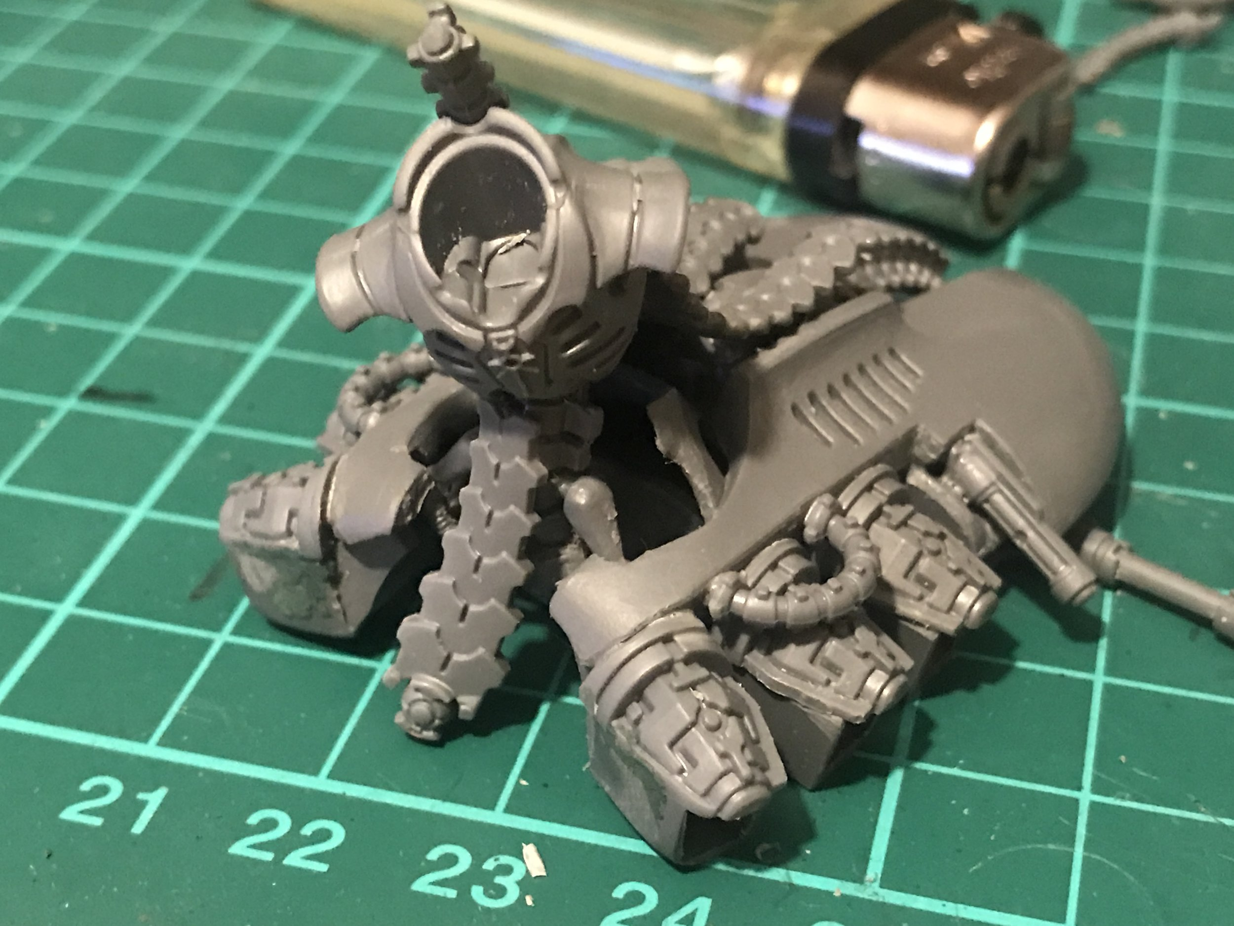 This guy needed a Warscythe!