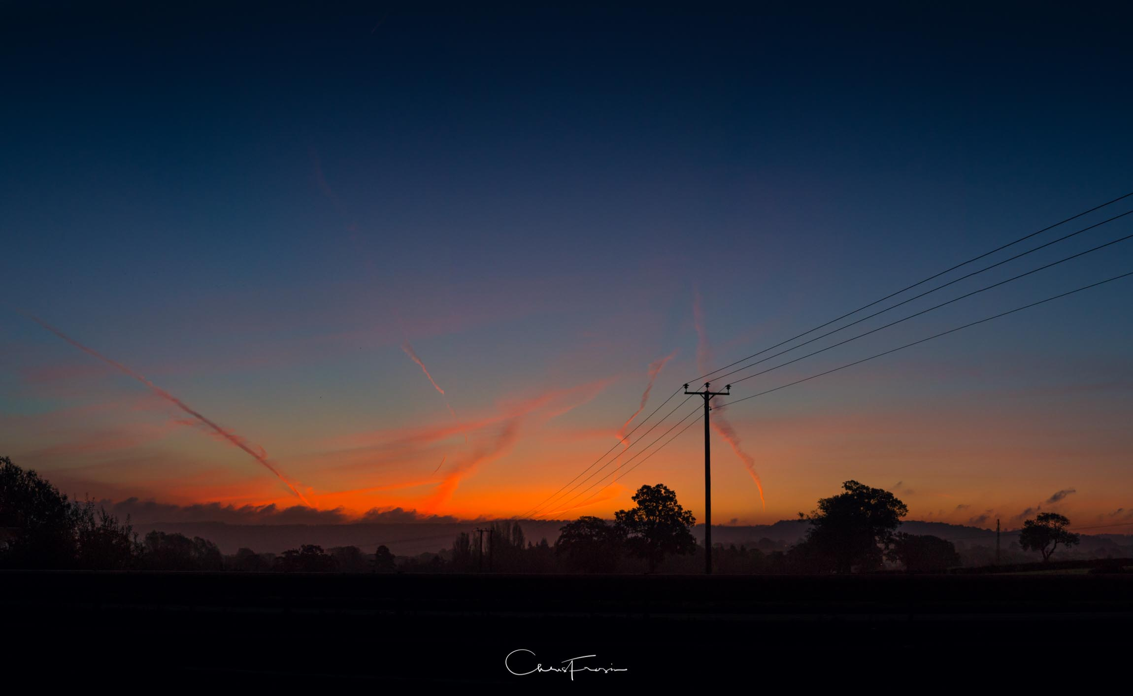 Sunrise over the fields. #Photovember Day Two